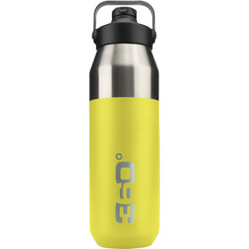 360° degrees Wide Mouth Gourde isotherme avec bouchon Sipper 1000ml, jaune